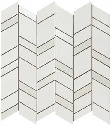 Мозаика MEK Light Mosaico Chevron Wall (9MCH) 30.5x30.5 от Atlas Concorde (Италия)