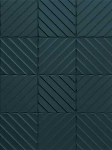 Настенная плитка 4D E065 Diagonal Deep Blue 20x20 от Marca Corona (Италия)