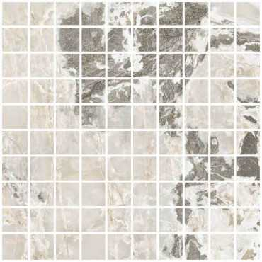 Мозаика ONYX&MORE GOLDEN BLEND SATIN MOSAICO 3X3 (767760) 30x30 от Casa Dolce Casa (Италия)