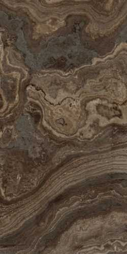 Керамогранит RHAPSODY BROWN WAVE RHAPS.LEV/RETT.(117425) 60x120 от Naxos Ceramica (Италия)