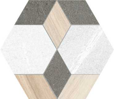 Керамогранит Hexagono Mayeix Multicolor 23x26.6 от Vives Ceramica (Испания)
