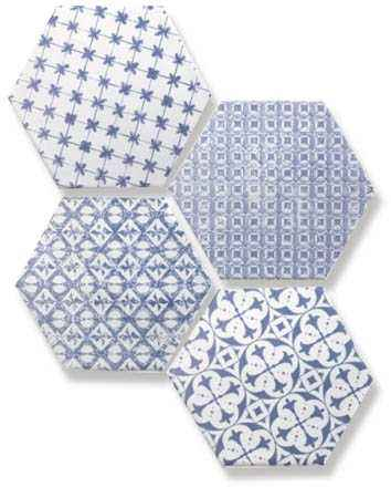 Мозаика Mosaic Azul Hexagon