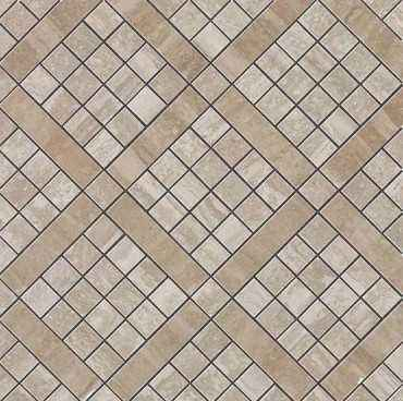 Мозаика Marvel Travertino Silver Diagonal 9MVB