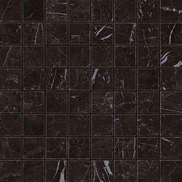 Мозаика керамогранит Marvel Stone Nero Marquina Mosaico Matt (AS3Z)