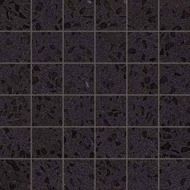 Мозаика Marvel Gems Terrazzo Black Mosaico Lappato (AS7T)