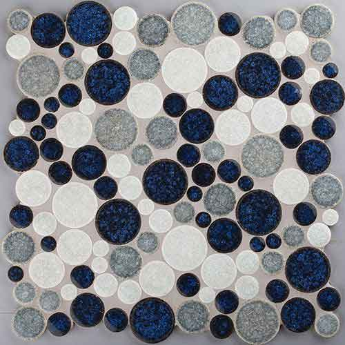 Мозаика MOSAICO SPHERE BLUE/WHITE